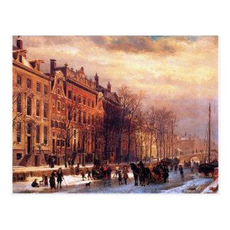 Carte Postale Vue sur Heerengracht à Amsterdam par Cornelis