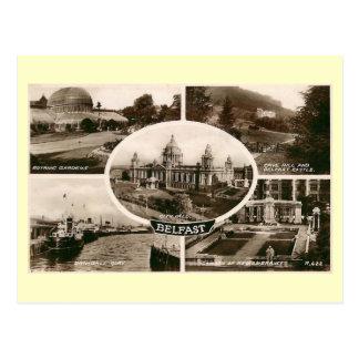 Carte Postale Vues cru de Belfast, Irlande