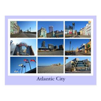 Carte Postale Vues d'Atlantic City
