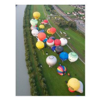 Carte Postale Vues de fiesta de ballon