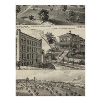 Carte Postale Vues de Kansas City, le Kansas