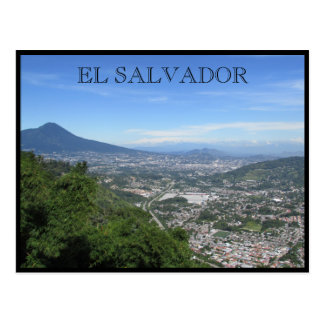 Carte Postale vues de San Salvador