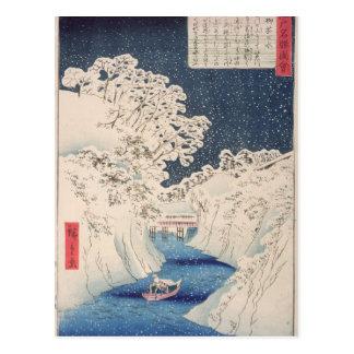 Carte Postale Vues d'Edo