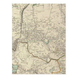 Carte Postale W Sibérie, Tartary, Khiva, &c de Bokhara