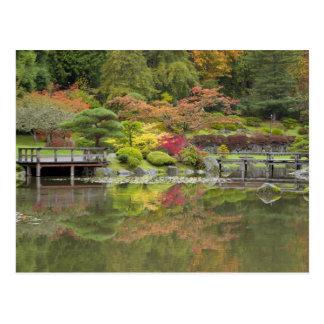 Carte Postale WA, arborétum de parc de Seattle, Washington, 3