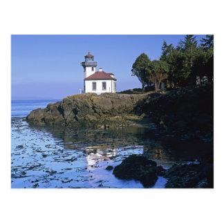 Carte Postale WA, île de San Juan, phare de four à chaux
