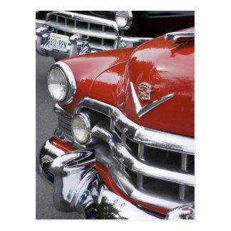 Carte Postale WA, Seattle, automobile américaine classique