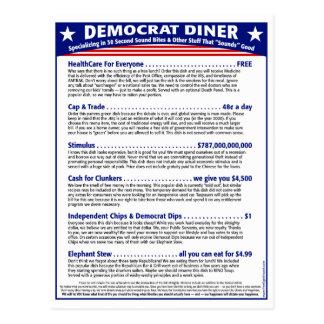 Carte Postale Wagon-restaurant de Démocrate