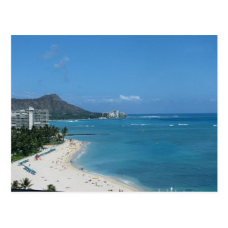 Carte Postale Waikiki Hawai'i