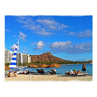 Carte Postale Waikiki, Hawai'i