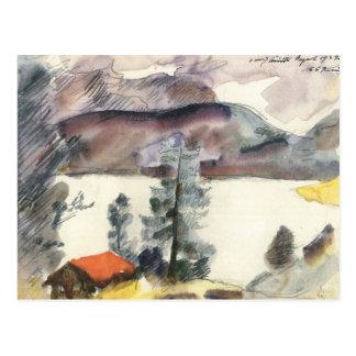 Carte Postale Walchensee par Lovis Corinthe