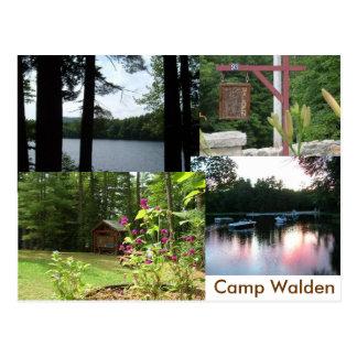 Carte Postale walden stationnaire