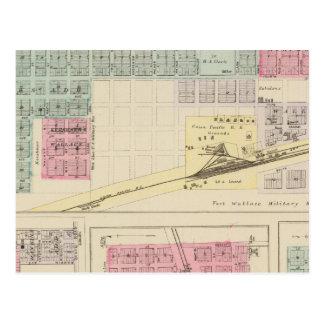 Carte Postale Wallace, Dorrance, Gorham, Fairport, le Kansas