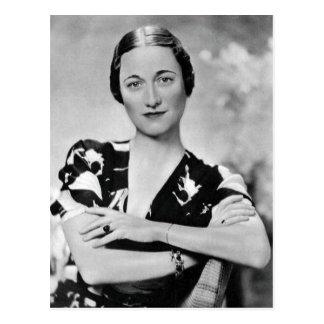 Carte Postale Wallis Simpson