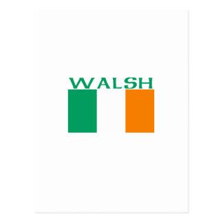 Carte Postale Walsh
