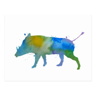 Carte Postale Warthog