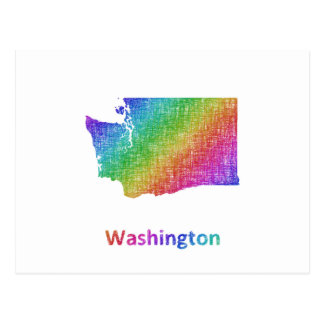 Carte Postale Washington
