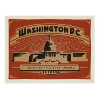 Carte Postale Washington, C.C