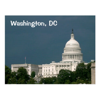 Carte Postale Washington, C.C : Capitol des Etats-Unis