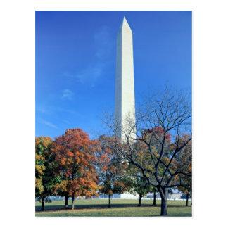 Carte Postale WASHINGTON, C.C ETATS-UNIS. Hausses de monument de
