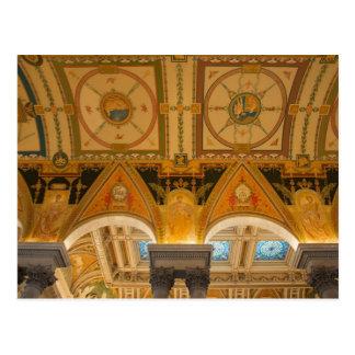 Carte Postale WASHINGTON, C.C ETATS-UNIS. Plafond dans grand