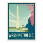 Carte Postale Washington, C.C - le capital de notre nation