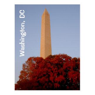 Carte Postale Washington, C.C :  Monument de Washington dans