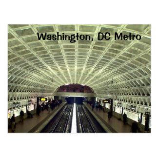 Carte Postale Washington, C.C : Station de métro