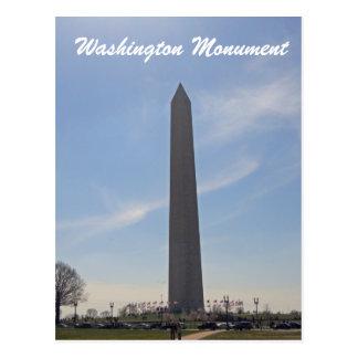 Carte Postale Washington DC 003 de monument de Washington