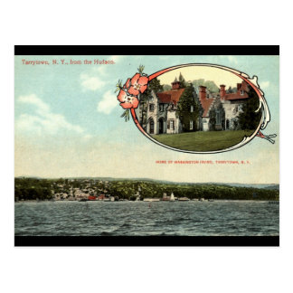 Carte Postale Washington Irving, Tarrytown, cru c1915 de NY