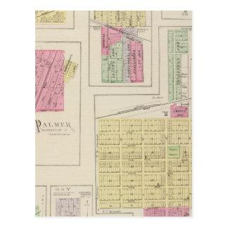 Carte Postale Washington, Palmer, Linn, Barnes, le lendemain, le