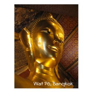 Carte Postale Wat Pô, Bangkok