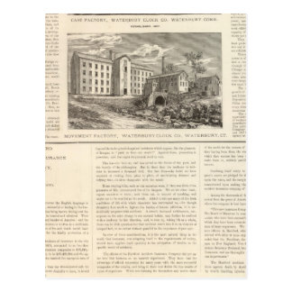 Carte Postale Waterbury Clock Company