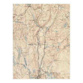 Carte Postale Webster, le Massachusetts