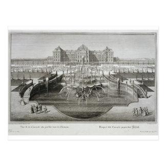 Carte Postale Weissenstein, vue vers le château de la barre