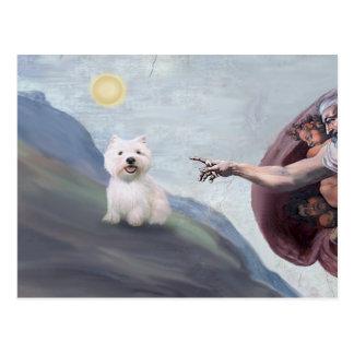 Carte Postale Westie de Dieu (#2)