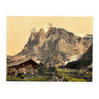 Carte Postale Wetterhorn, du Scheideg, Bernese Oberland, S