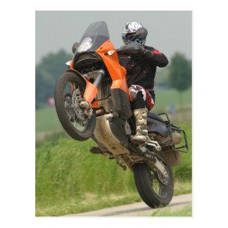 Carte Postale Wheelie de KTM