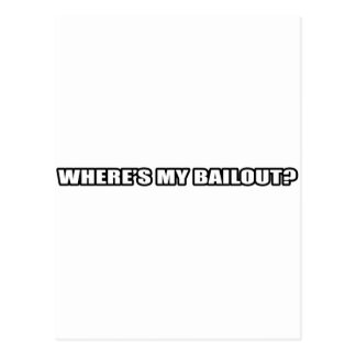 Carte Postale Wheres mon renflouement ?