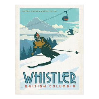 Carte Postale Whistler, Colombie-Britannique