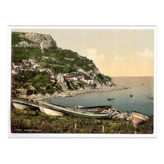 Carte Postale Whitby, baie de Runswick, Yorkshire, Angleterre