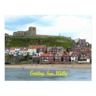 Carte Postale Whitby dans North Yorkshire, Angleterre