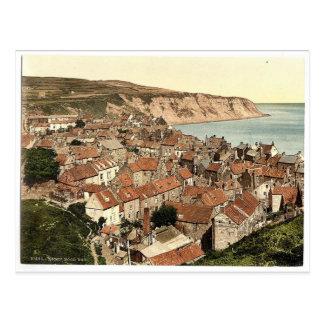 Carte Postale Whitby, la baie de Robin Hood, Yorkshire,