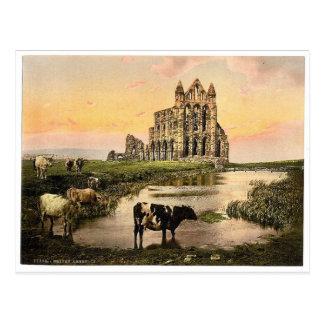 Carte Postale Whitby, l'abbaye, III., Yorkshire, Angleterre P