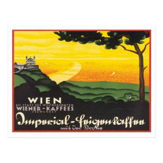 Carte Postale Wien vintage Autriche