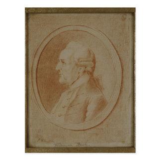 Carte Postale Wilhelm Friedrich Bach, 1782