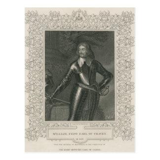 Carte Postale William Craven, ęr comte de Craven