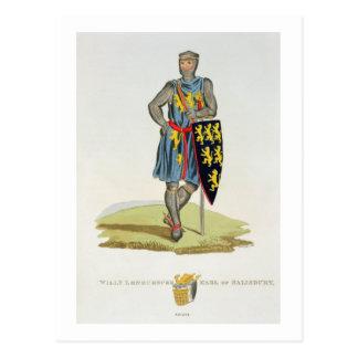 Carte Postale William de Longuespee, 3ème comte de Salisbury