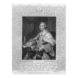 Carte Postale William Fitz-Maurice petit