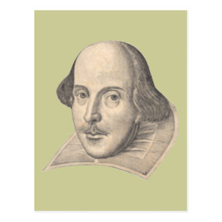 Carte Postale William Shakespeare